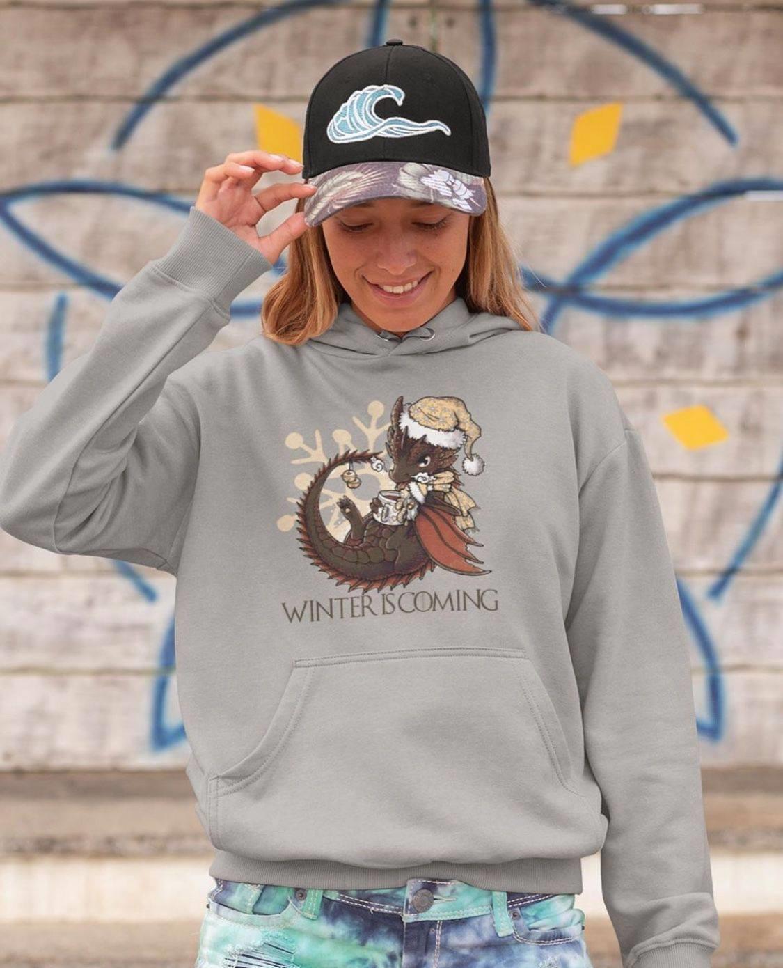 Dragon Winter Is Coming Shirt