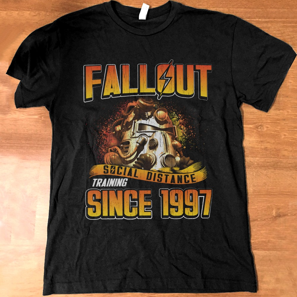 Fallout Social Distance Training Since 1997 Hoodie