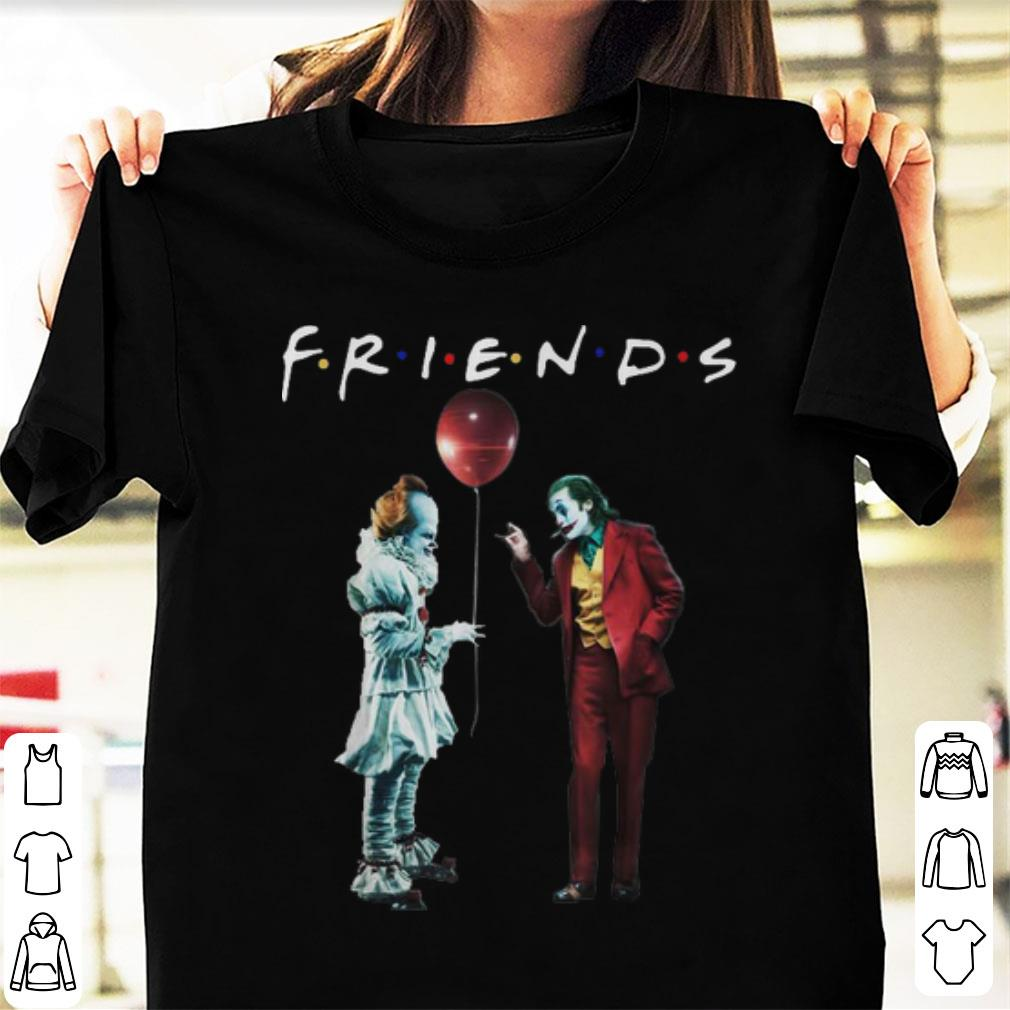 Friends Pennywise With Joker Sweatshirt
