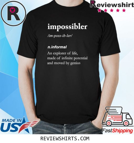 Funny definition ideal for Impossiblers Long Sleeve T-Shirt
