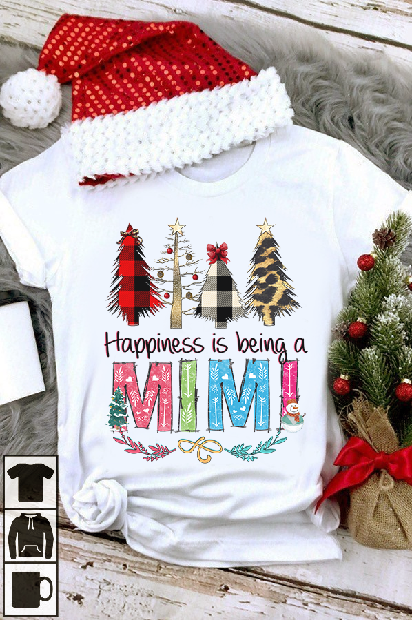 Happiness Is Being A Mimi Women T-Shirt