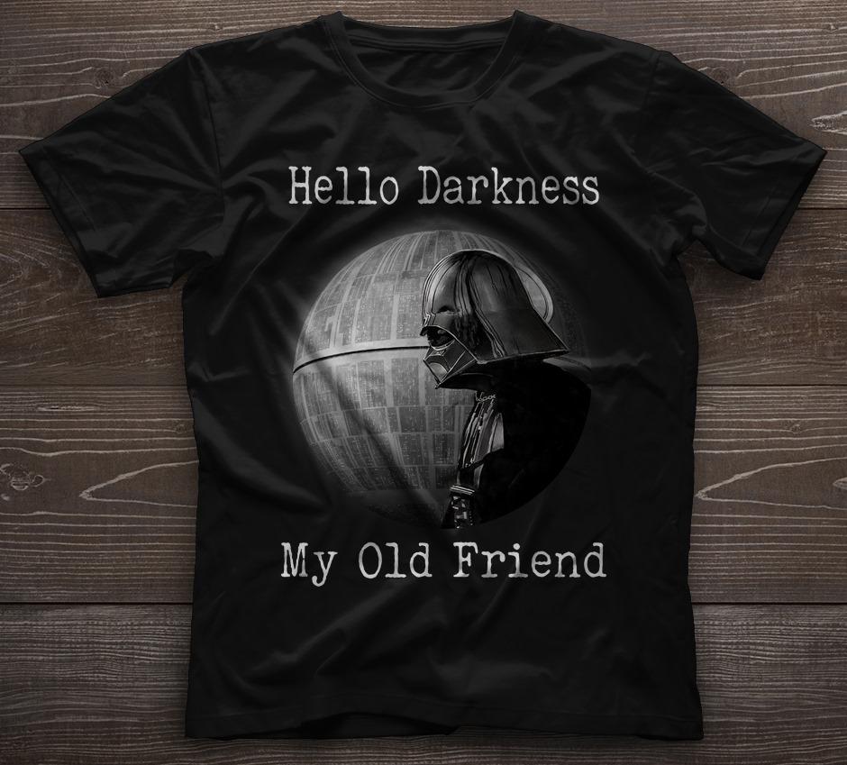 Hello Darkness My Old Friend Men T-Shirt