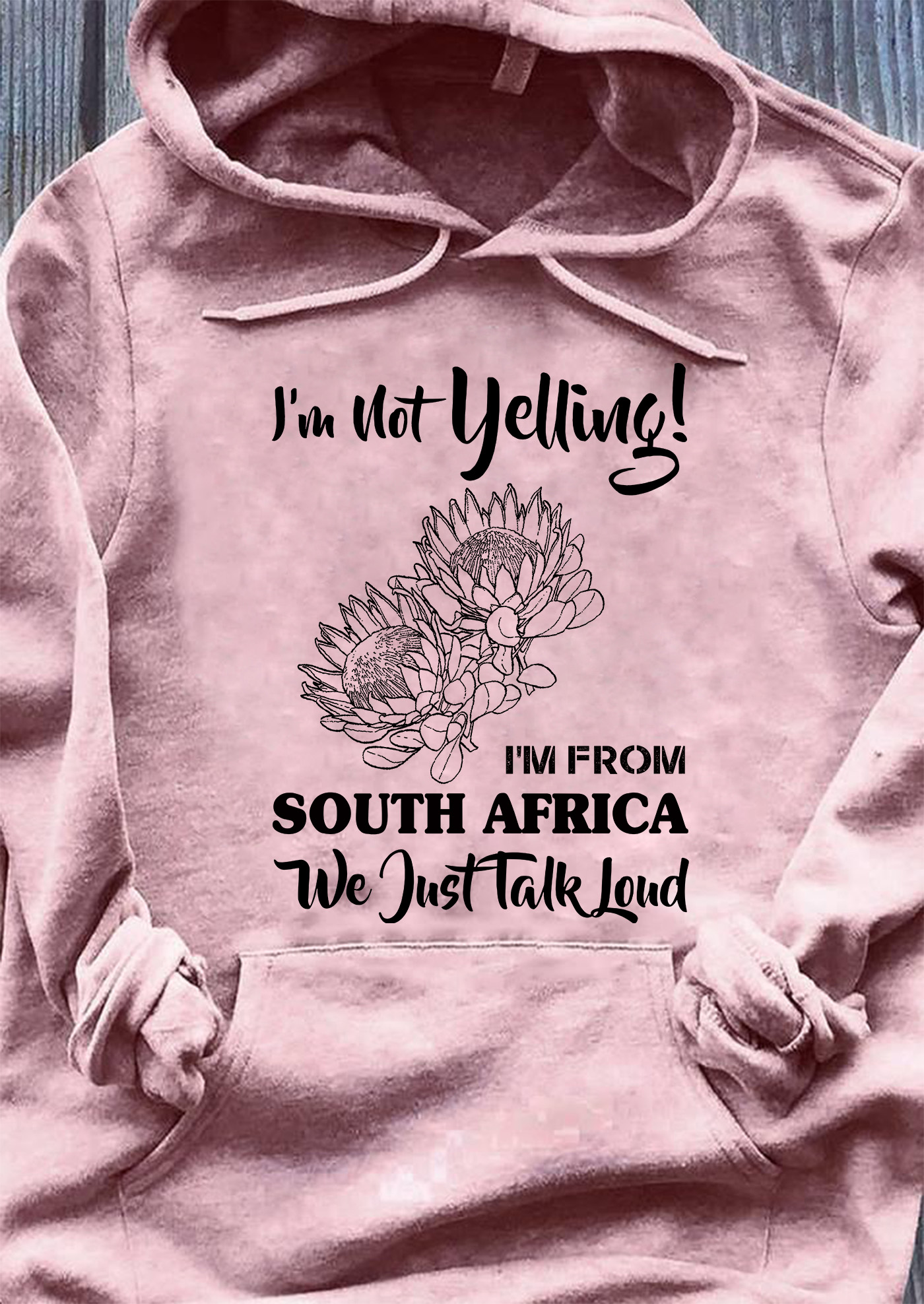 I'm Not Yelling I'm From South Africa We Just Talk Loud Men T-Shirt