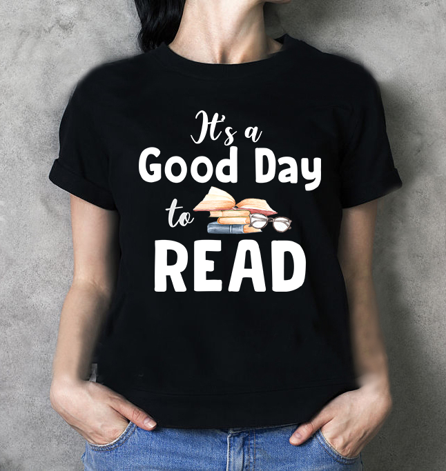 It's A Good Day To Read Books Women Jersey Tank Top