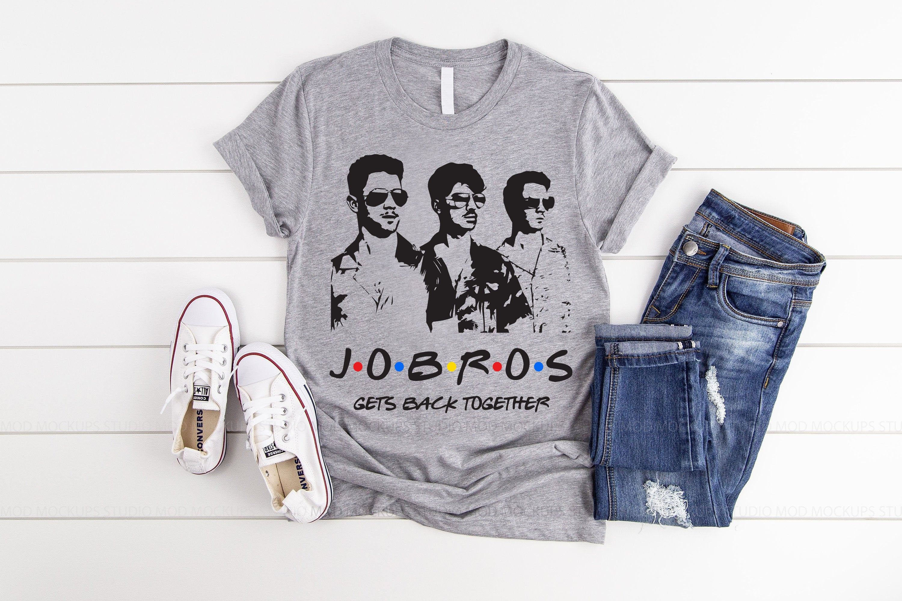 Jonas Gets Back Together Jobros Men T-Shirt