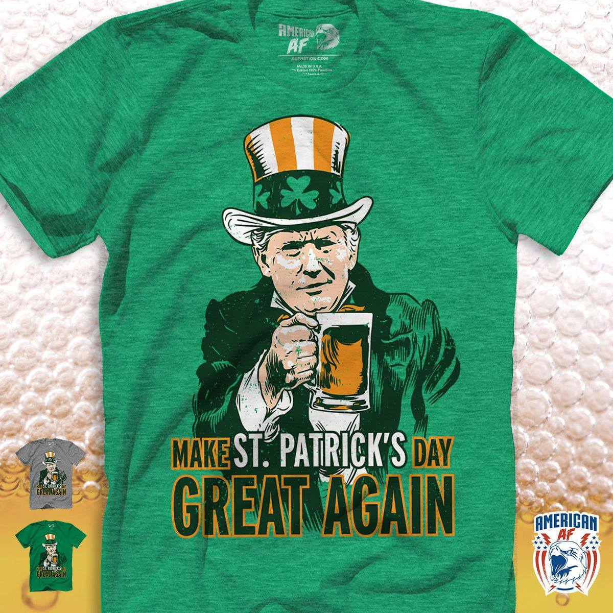 Make St Patrick's Day Great Again Hoodie