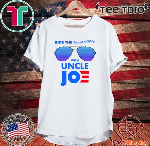 Ride the Blue Wave with Uncle Joe Biden Men T-Shirt