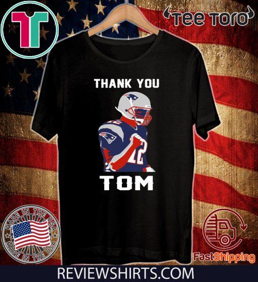 THANK YOU TOM BRADY NEW ENGLAND PATRIOTS Women T-Shirt