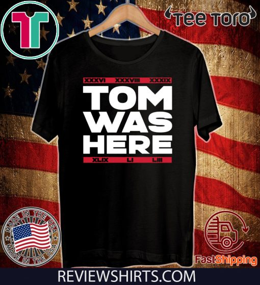 TOM WAS HERE – NEW ENGLAND FOOTBALL Hoodie