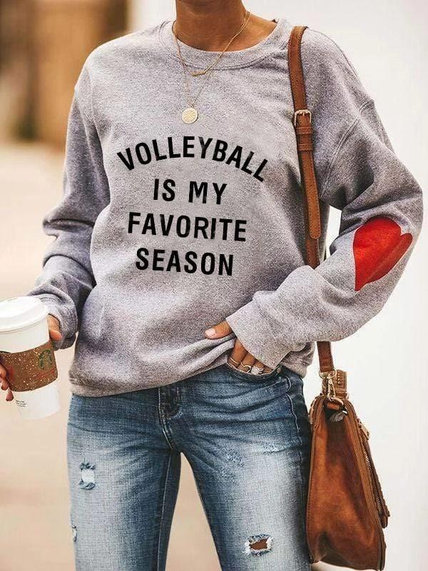 Volleyball Is My Favorite Season Hoodie